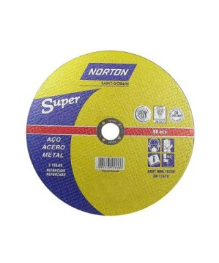 DISCO DE CORTE SUPER AR312 10 X 1,8 X 1 NORTON